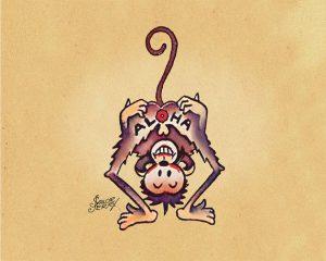Aloha scimmietta Sailor Jerry