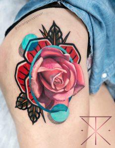 altri stili di tatuaggio: avantgarde